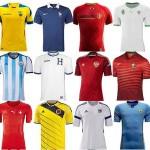 قمصان منتخبات كأس العالم 2014