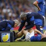 مونتوليفو يغيب عن المونديال بسبب كسر فى الساق