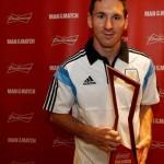 ميسي أفضل لاعب في لقاء الأرجنتين وايران
