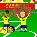 كارتون .. كيف فازت البرازيل على كرواتيا