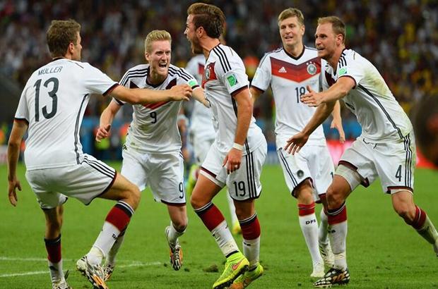 المانيا بطلة العالم للمرة الرابعة
