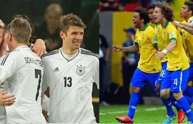 المانيا و البرازيل