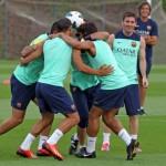 برشلونة يبدأ فترة الإعداد تحت قيادة لويس إنريكي