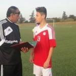 لاعب بافيا الايطالي فى القاهرة للانضمام لمنتخب الشباب