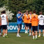 ريال مدريد يستعد للموسم الجديد في غياب العديد من لاعبيه