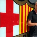 برشلونة يقدم ماثيو لوسائل الإعلام