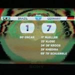 المانيا تذل البرازيل على ارضها