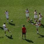المنتخب الألماني يبدأ استعداداته للمواجهة المرتقبة مع البرازيل