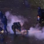 120 معتقلا و70 مصابا في اعمال شغب ببوينوس آيرس عقب ختام المونديال