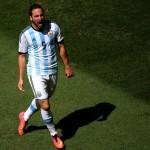 هيجواين أفضل لاعب في لقاء الأرجنتين وبلجيكا