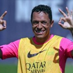 أدريانو جاهز للمشاركة مع برشلونة