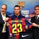 """بالصور.. برشلونة يقدم """"فيرمايلن """" لوسائل الإعلام"""