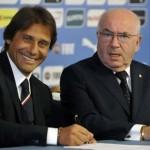 """صور..الاتحاد الإيطالي يقدم """"كونتي"""" لوسائل الإعلام"""
