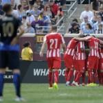 أوليمبياكوس يفوز على مانشستر سيتي بركلات الجزاء في كأس الأبطال الدولية