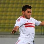 ياسر إبراهيم مهدد بالغياب عن مباراة فيتا كلوب