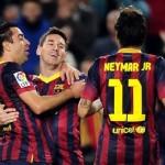 تشافي ونيمار يشاركان مع برشلونة في كأس جامبر