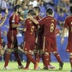 """فيديو..إسبانيا تسحق مقدونيا بخماسية في تصفيات """"اليورو """""""