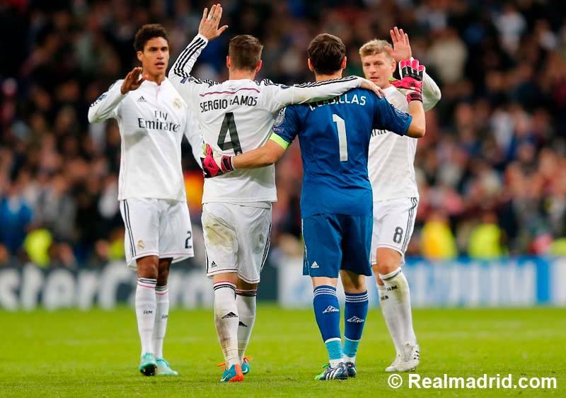 صورمباراة ريال مدريد وليفربول في دوري الأبطال