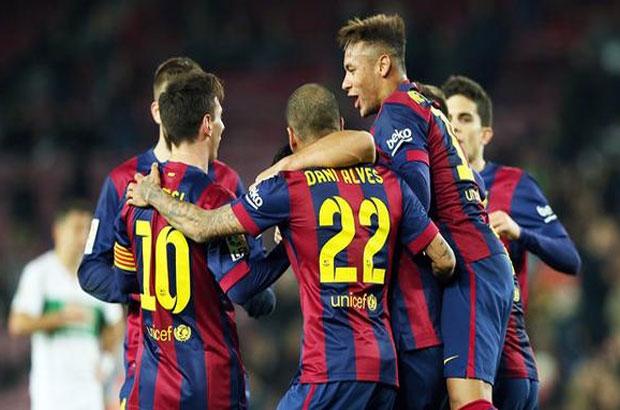 فيديو .. برشلونة يكتسح إليتشي بخماسية في ثمن نهائي كأس الملك