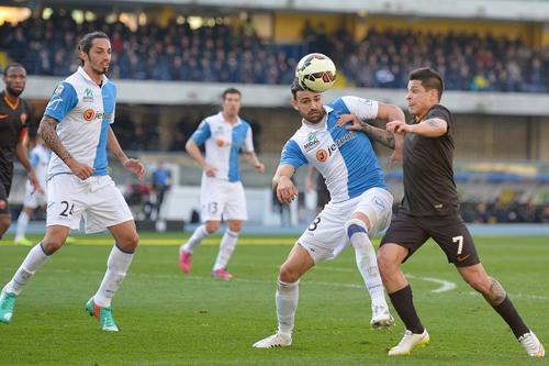 كييفو يتعادل سلبياً مع روما بالدوري الايطالي