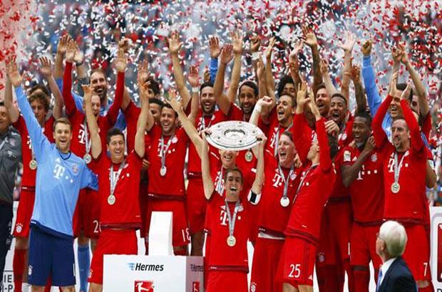 البايرن بطل الدوري الألماني 2014/2015