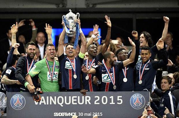 باريس سان جيرمان بطل كأس فرنسا