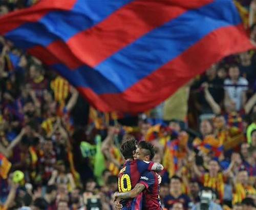 برشلونة بطل كأس إسبانيا