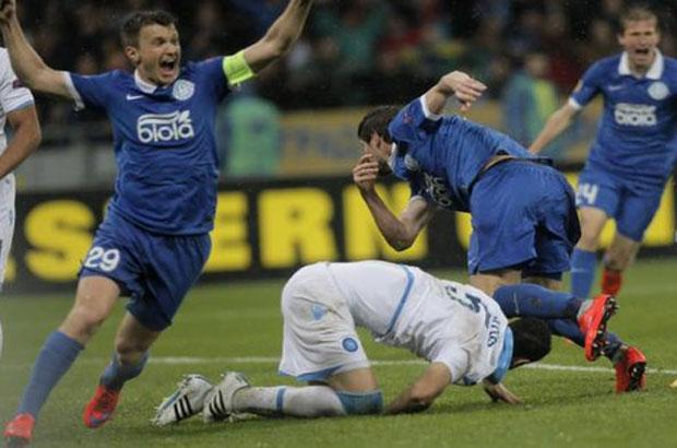 دنيبرو يهزم نابولي