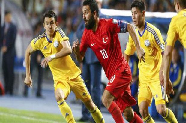 توران يقود تركيا للفوز على كازخستان بتصفيات يورو 2016
