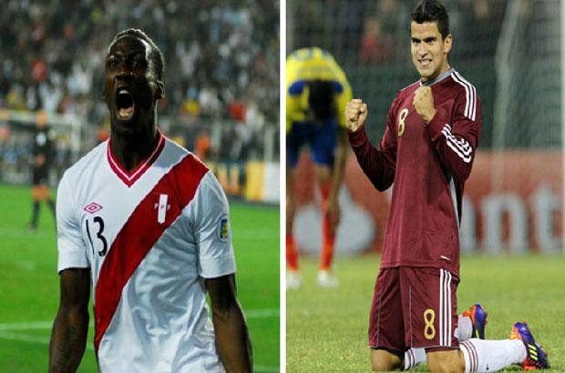 """الأفضل والأسوأ في مباراة """" فنزويلا – بيرو """""""