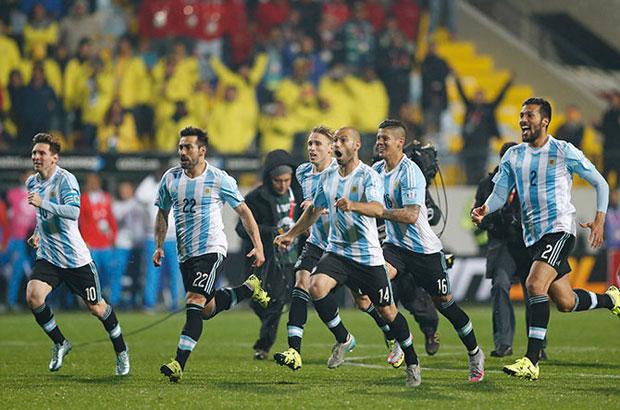الأرجنتين ترقص التانجو في النهائي