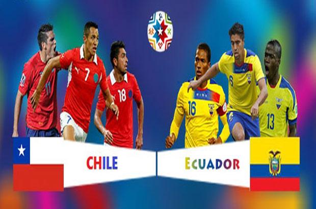 الإكوادور - تشيلي كوبا 2015