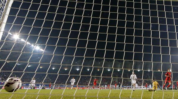 صور من مباراة بيرو وبوليفيا