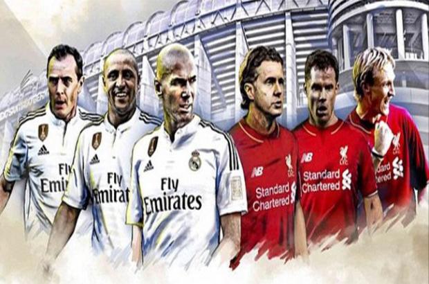اساطير ريال مدريد و ليفربول