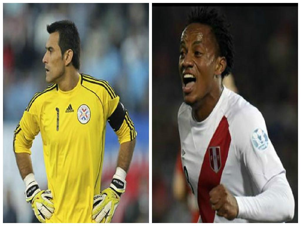 """الأفضل والأسوأ في مباراة """" بيرو – الباراجواي"""