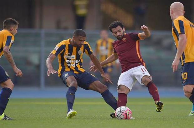 صلاح يشارك في تعادل روما أمام فيرونا بالدوري الإيطالي