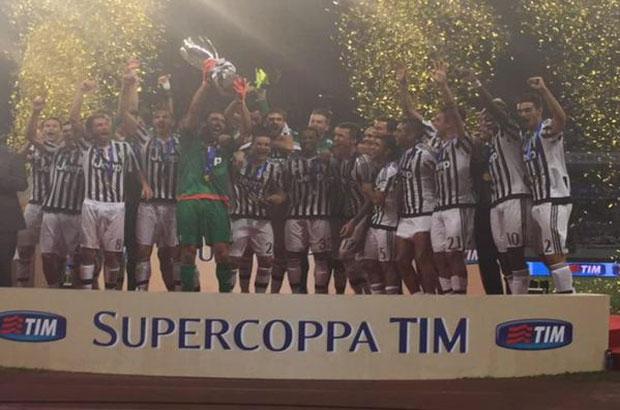 اليوفي بطل كأس السوبر الإيطالي