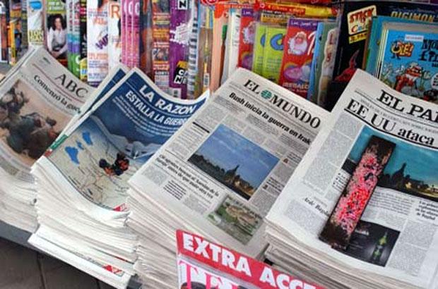 تعرف على أهم عناوين الصحافة الإسبانية