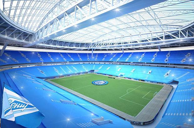 """صور .. ملعب زينيت أرينا """" الخرافي """" أحد ملاعب مونديال روسيا 2018"""