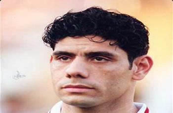 """سمير """" كمونة """" لاعب الاهلي ومنتخب مصر السابق"""