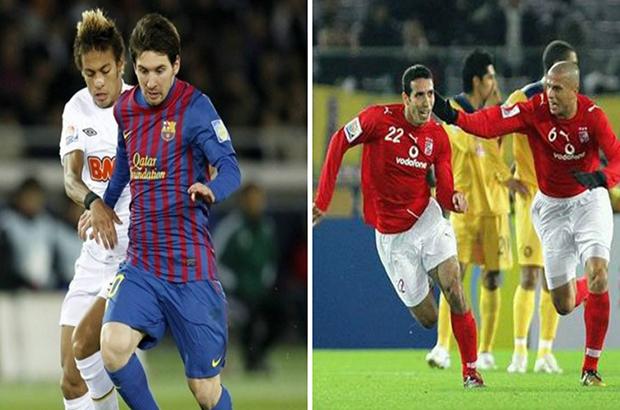 صورة .. الفيفا : أبوتريكة وميسي في الذاكرة كهدافين لمونديال الأندية