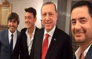 اردوغان واوزيل