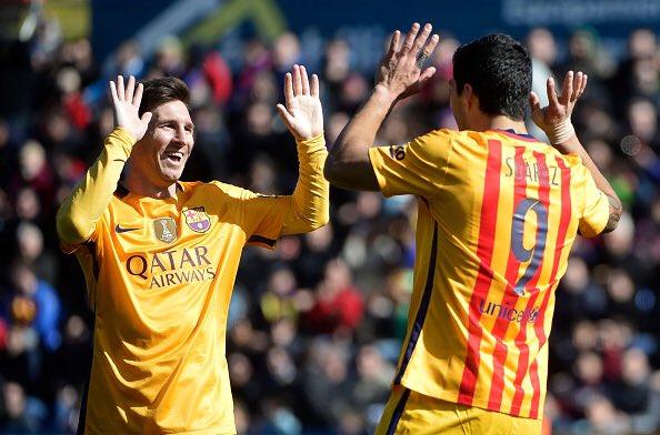 برشلونة يسحق ليفانتي بثنائية رائعة