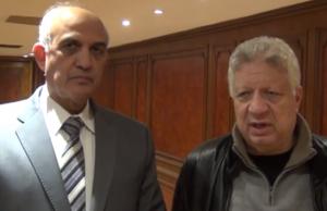 مرتضى منصور ووزير الداخلية