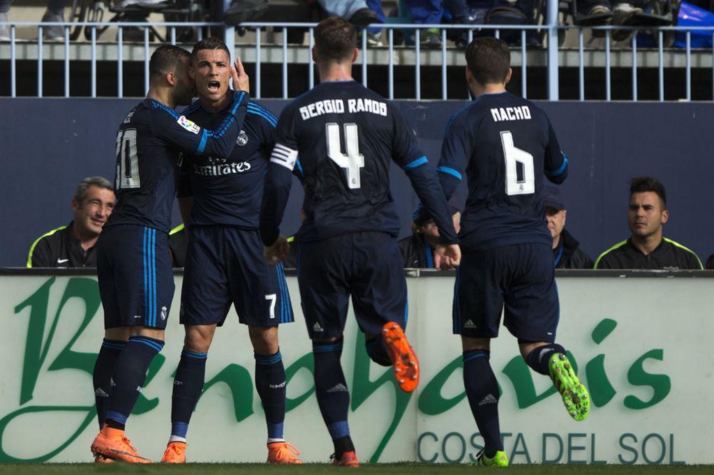 Malaga-v-Real-Madrid