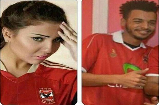 صورة   مي كساب : زوجي أهلاوي .. وهذا سبب إرتدائي القميص الأحمر