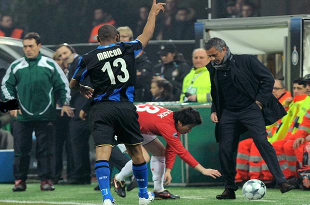 صورة .. مورينيو يكشف عن اسم ناديه الجديد