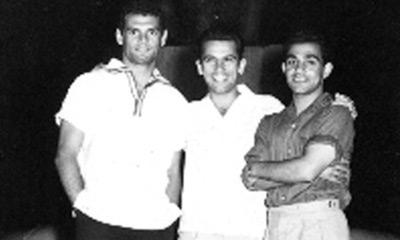 الثلاثي-عادل-هيكل-و-صالح-سليم-و-الجوهري-خلال-الدورة-الأولمبية-بروما