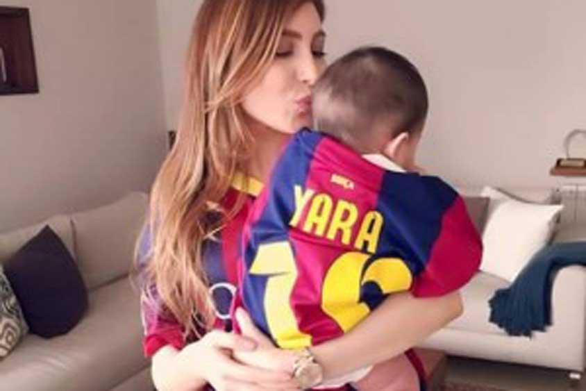 يارا-مع-طفلها
