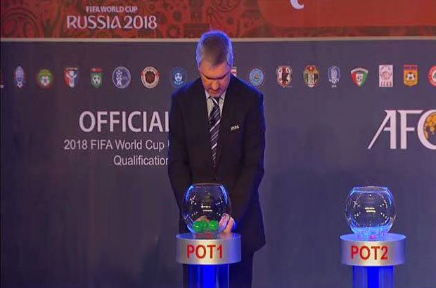 """صورة .. العرب في """" مجموعة الموت """" بتصفيات كأس العالم 2018"""
